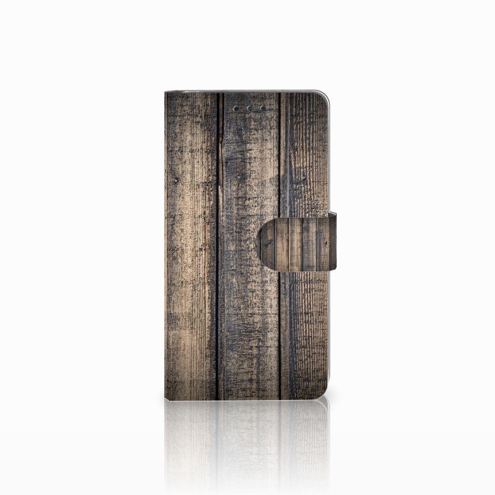 LG G4 Boekhoesje Design Steigerhout