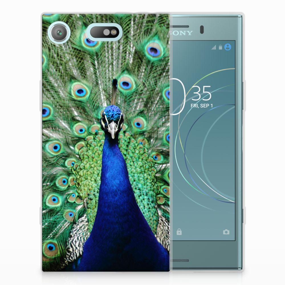 Sony Xperia XZ1 Compact TPU Hoesje Pauw