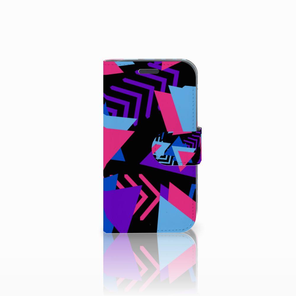 Samsung Galaxy J1 2016 Bookcase Funky Triangle