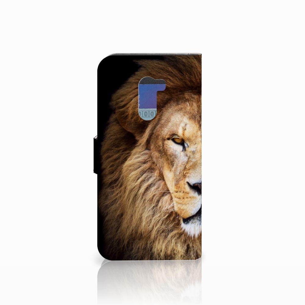 Xiaomi Pocophone F1 Telefoonhoesje met Pasjes Leeuw