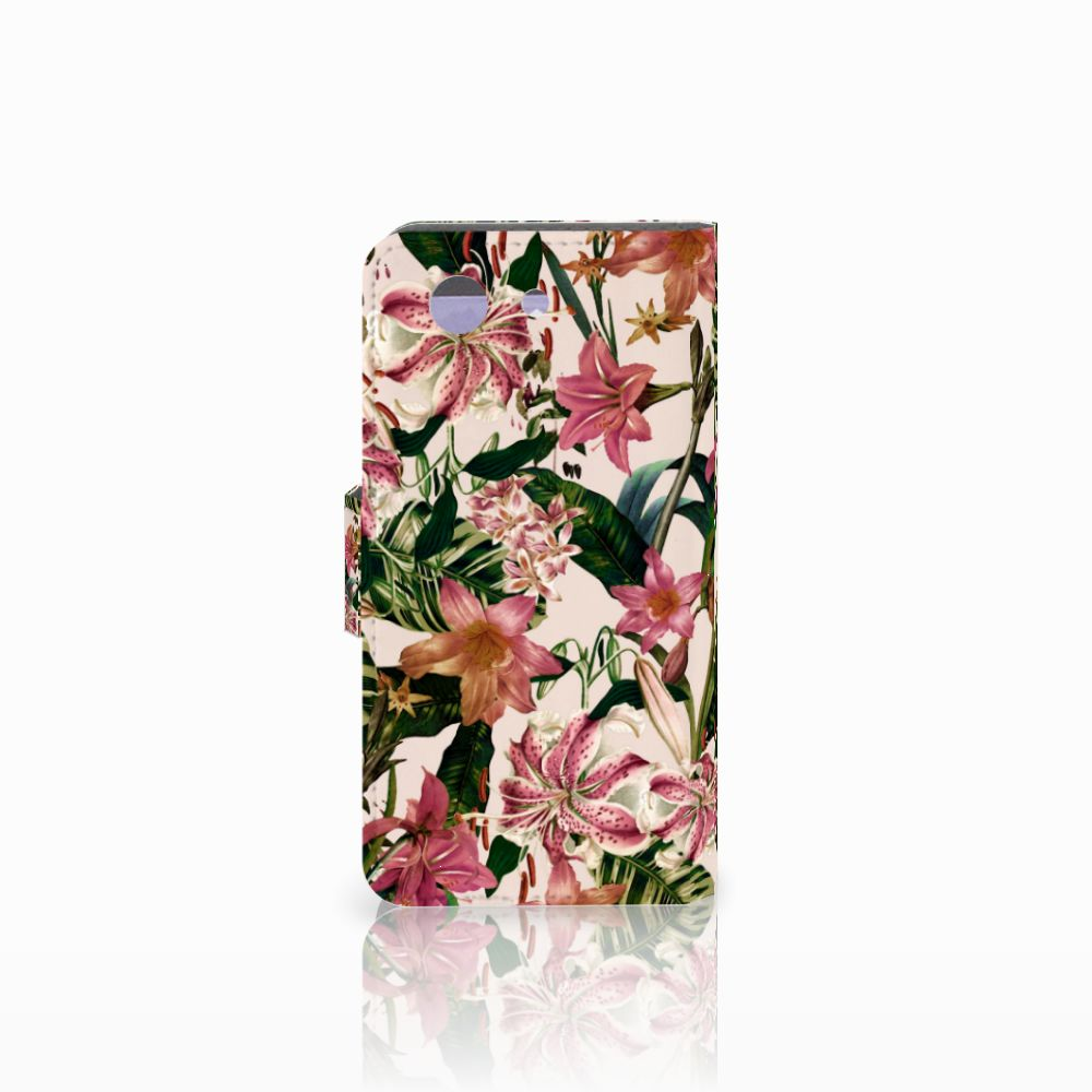 Sony Xperia Z3 Compact Hoesje Flowers