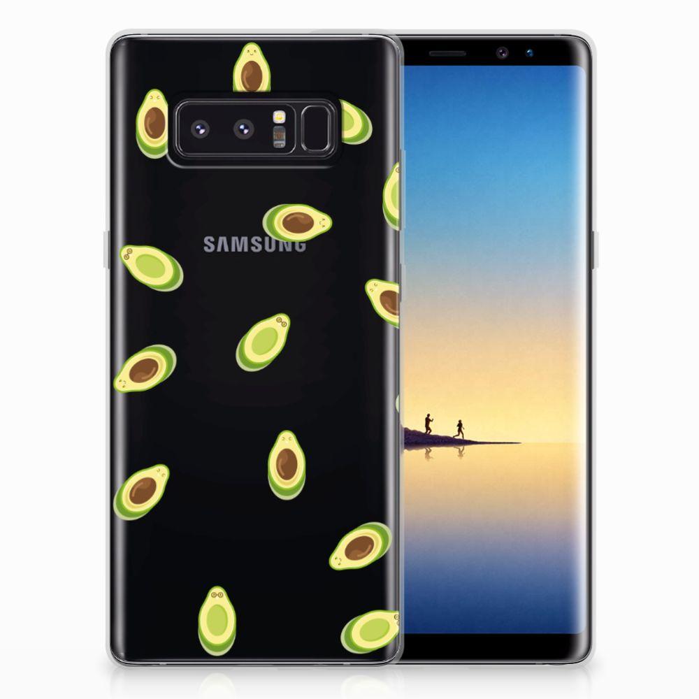Samsung Galaxy Note 8 Siliconen Case Avocado