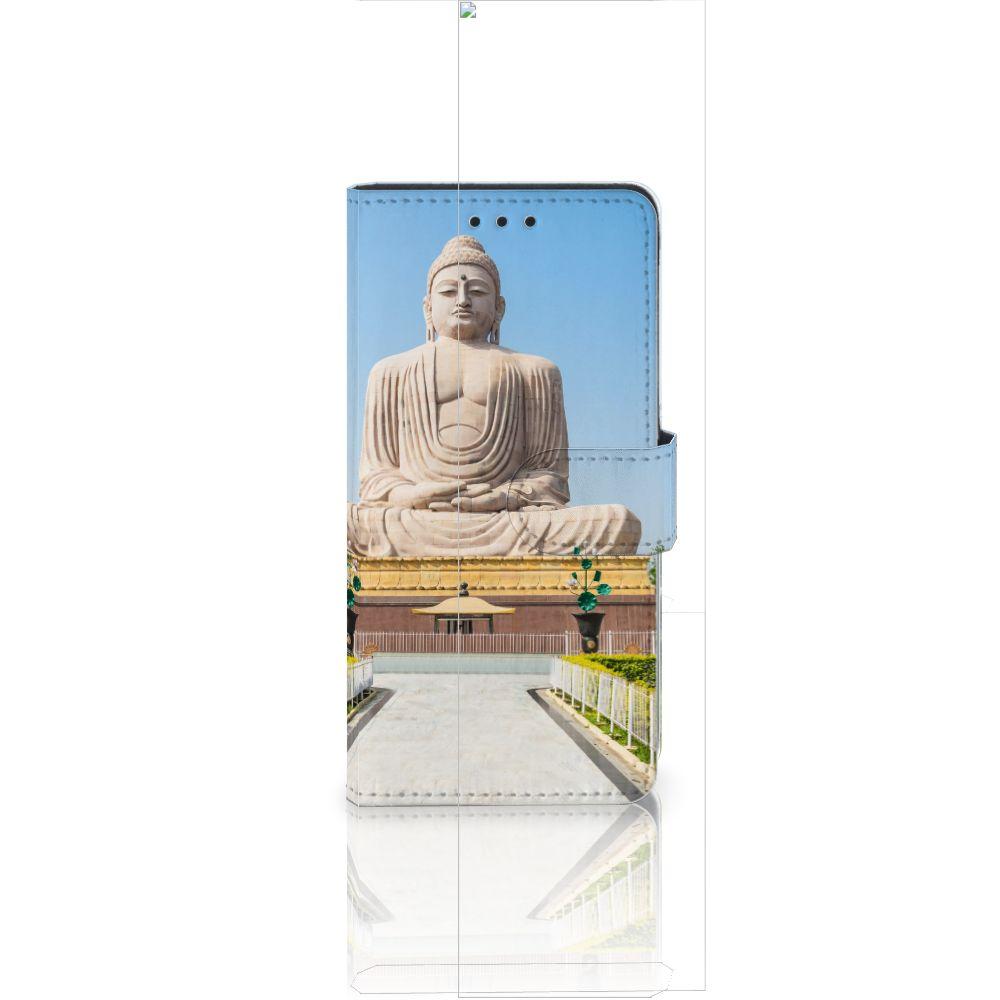 Huawei Ascend P8 Lite Flip Cover Boeddha