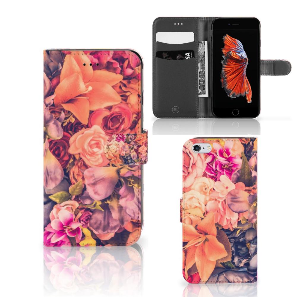 Apple iPhone 6 Plus | 6s Plus Hoesje Bosje Bloemen