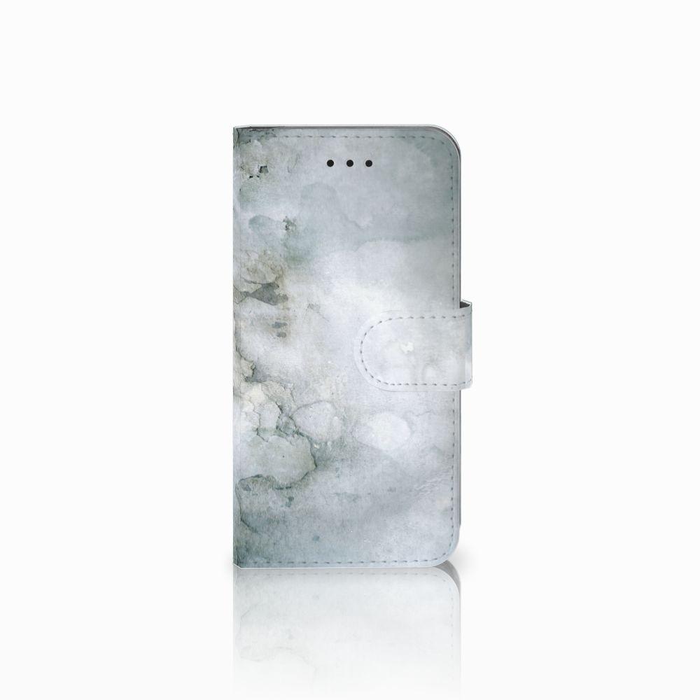 Apple iPhone X | Xs Uniek Boekhoesje Painting Grey