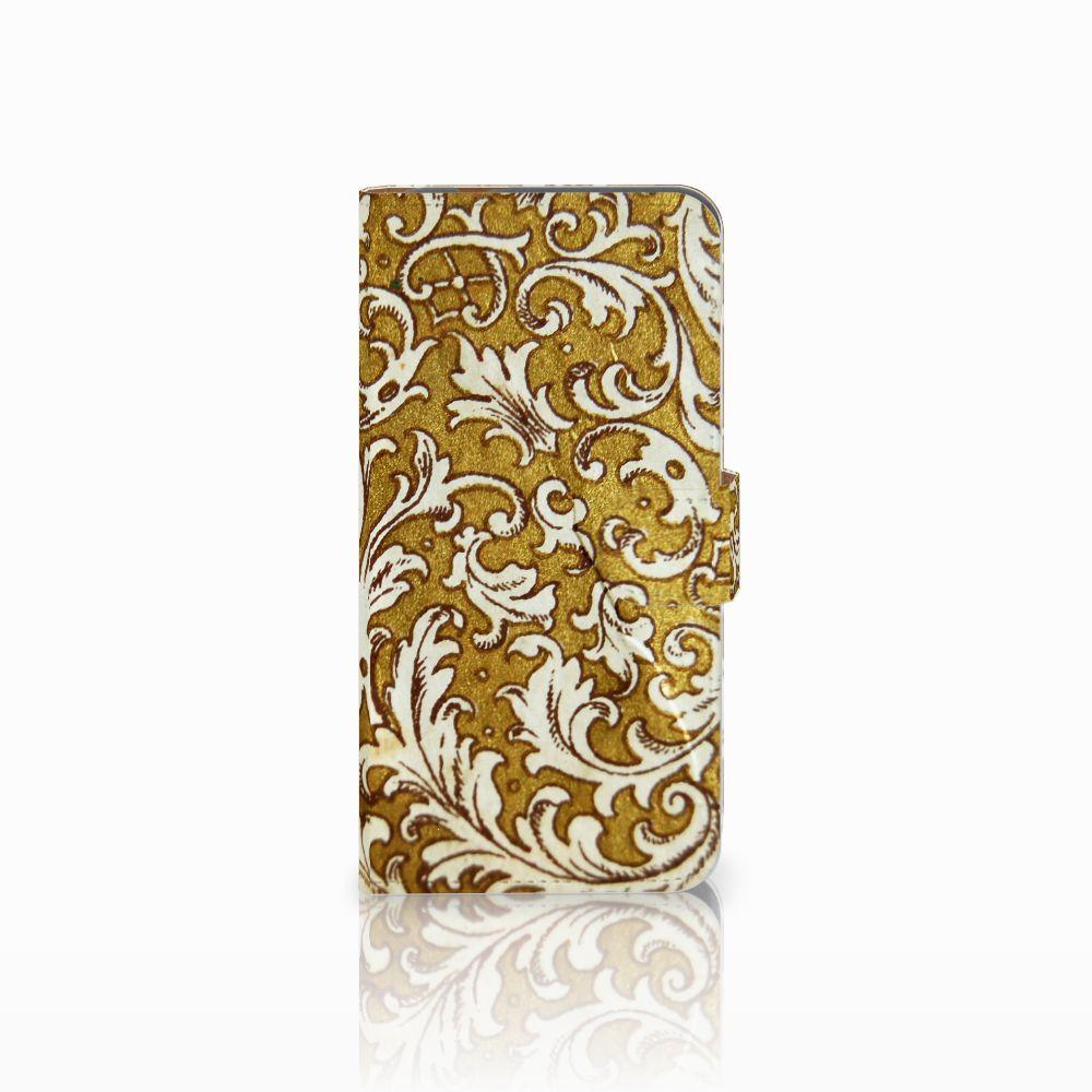 Huawei Nova Plus Boekhoesje Design Barok Goud