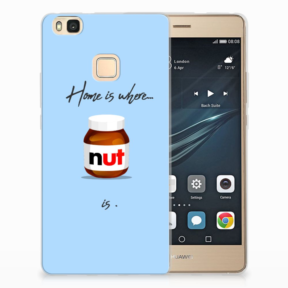 Huawei P9 Lite Siliconen Case Nut Home