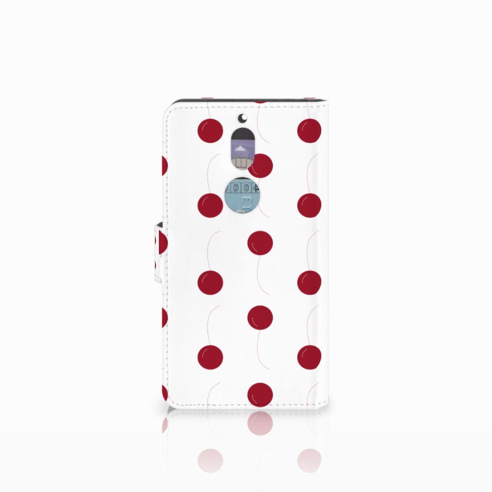 Nokia 7 Book Cover Cherries