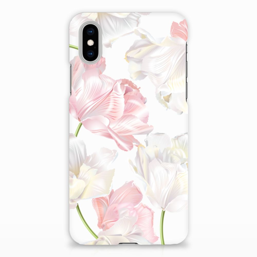 Apple iPhone X | Xs Hardcase Hoesje Design Lovely Flowers