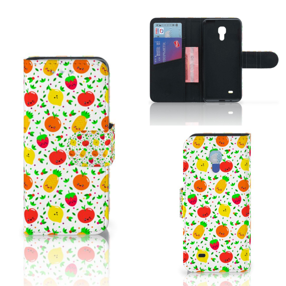 Samsung Galaxy S4 Mini i9190 Book Cover Fruits