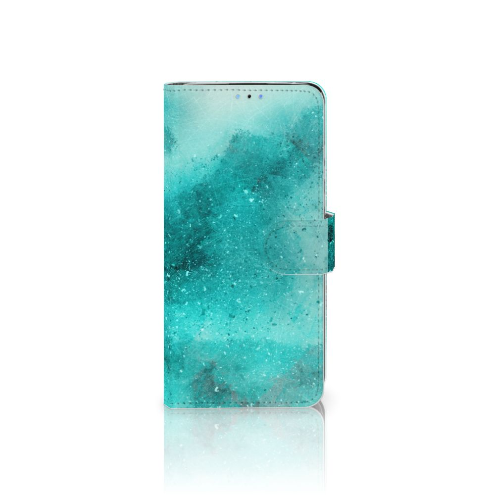Hoesje Huawei P30 Lite (2020) Painting Blue
