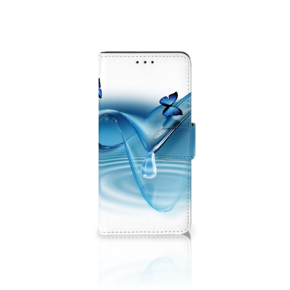 Samsung Galaxy J5 2017 Telefoonhoesje met Pasjes Vlinders