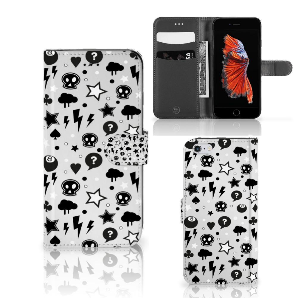 Telefoonhoesje met Naam Apple iPhone 6 Plus | 6s Plus Silver Punk