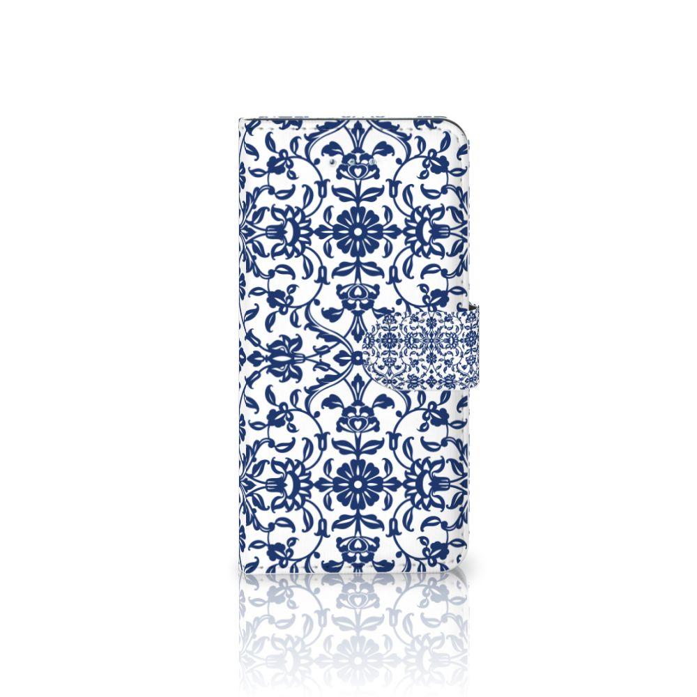 Honor 4A | Y6 Uniek Boekhoesje Flower Blue