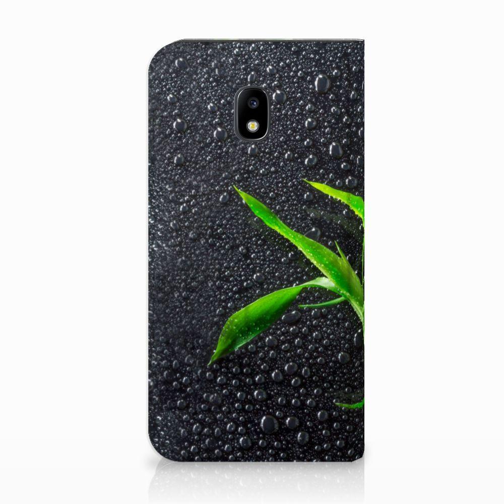 Samsung Galaxy J3 2017 Standcase Hoesje Design Orchidee