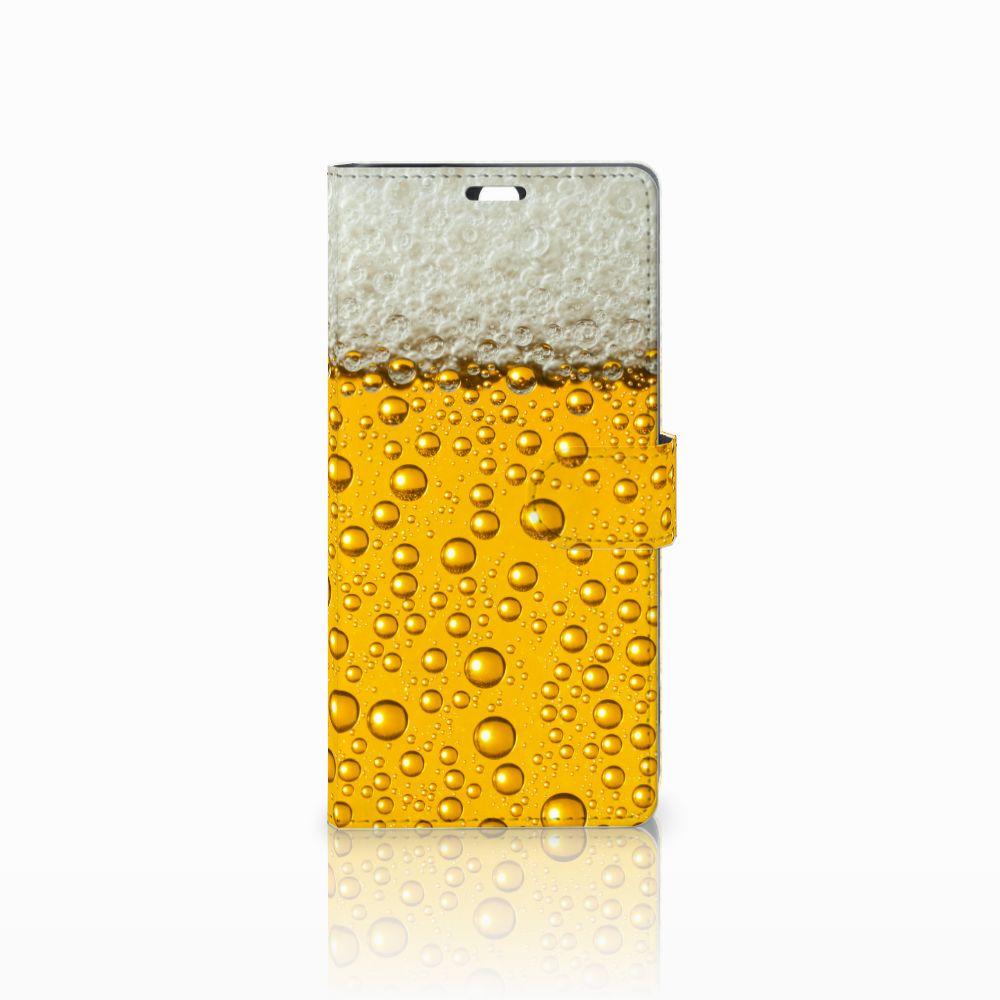 Sony Xperia C5 Ultra Uniek Boekhoesje Bier