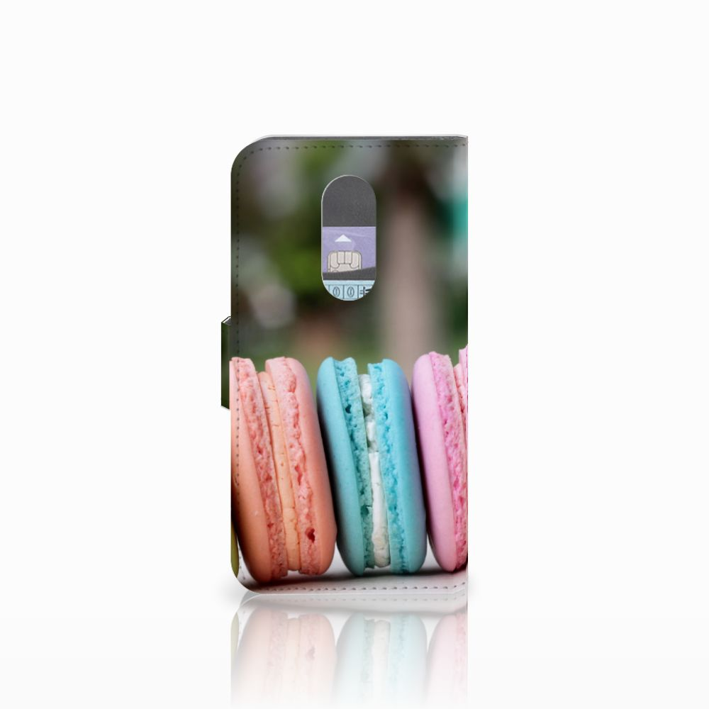 Wiko Wim Lite Book Cover Macarons