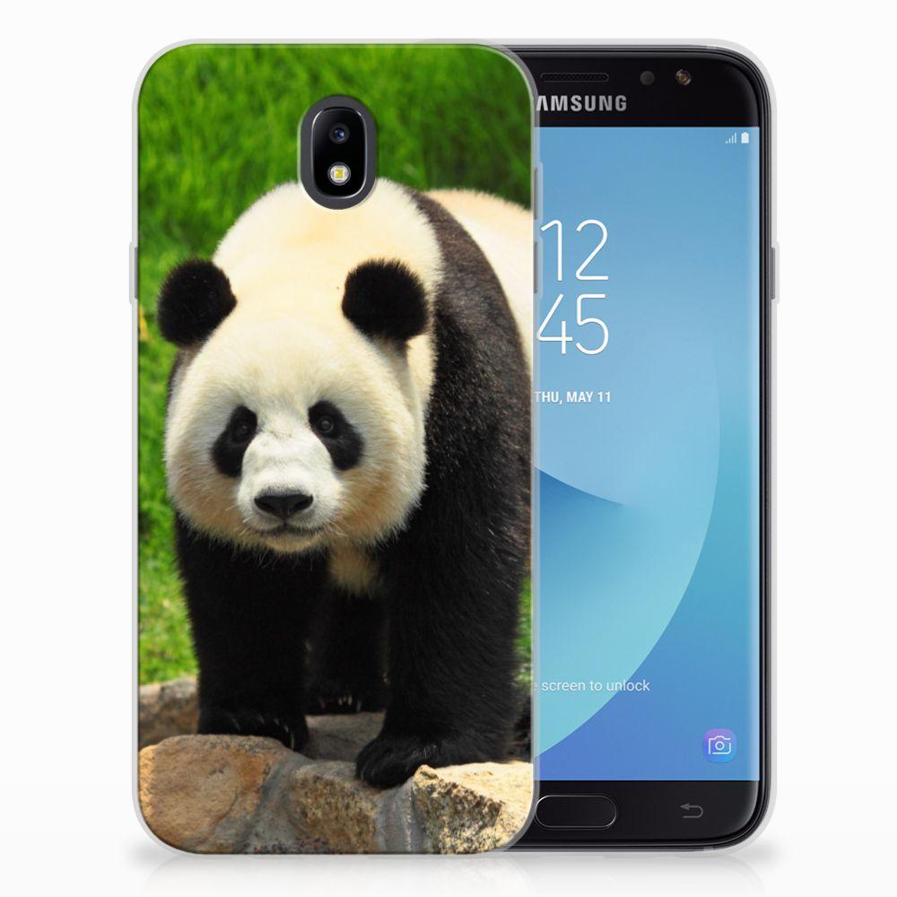 Samsung Galaxy J7 2017 | J7 Pro TPU Hoesje Panda