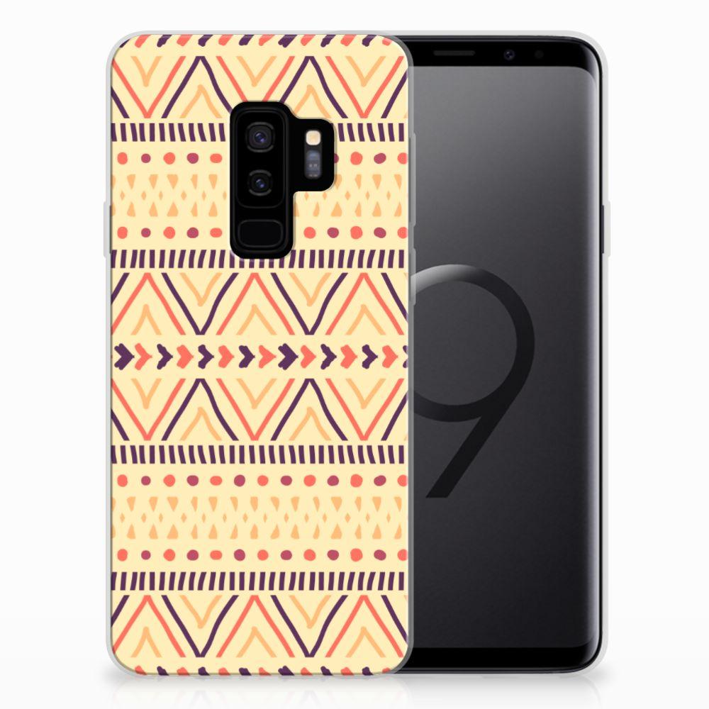 Samsung Galaxy S9 Plus TPU bumper Aztec Yellow