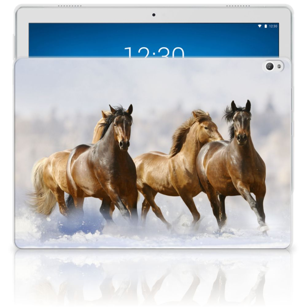 Lenovo Tab P10 Back Case Paarden