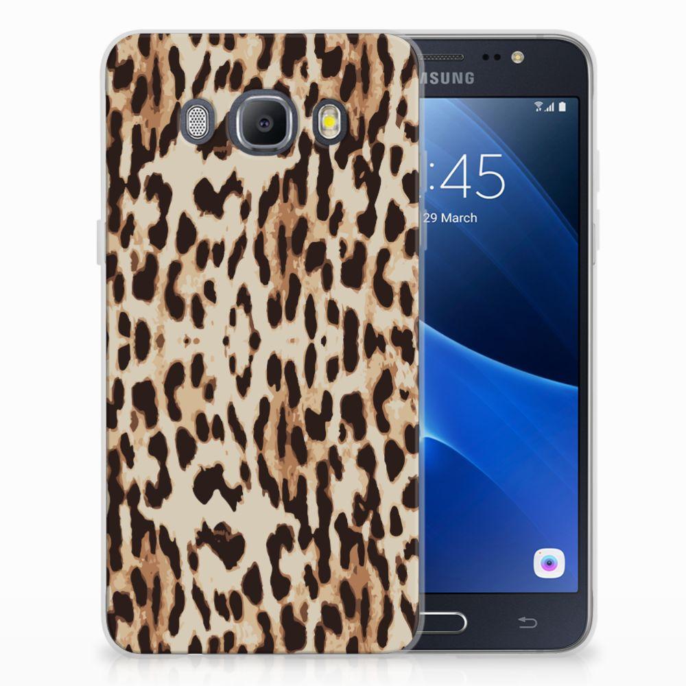 Samsung Galaxy J5 2016 Uniek TPU Hoesje Leopard