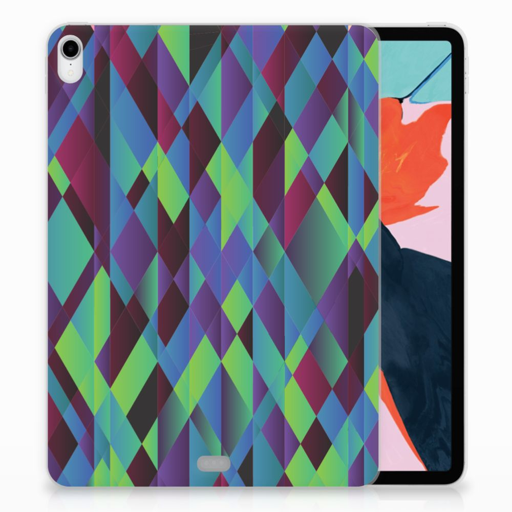 Apple iPad Pro 11 inch (2018) Back Cover Abstract Green Blue