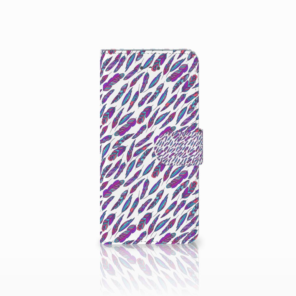 LG Nexus 5X Boekhoesje Design Feathers Color
