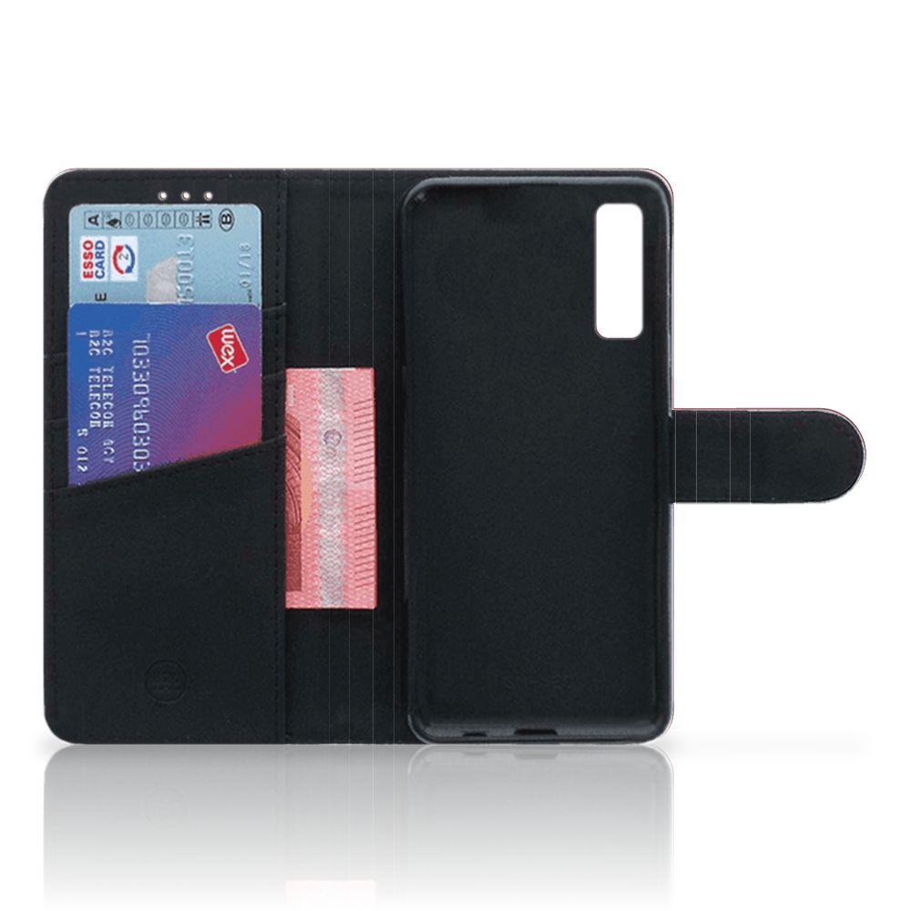 Samsung Galaxy A7 (2018) Telefoon Hoesje Sterren