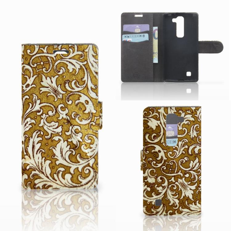 Wallet Case LG Magna | G4C Barok Goud