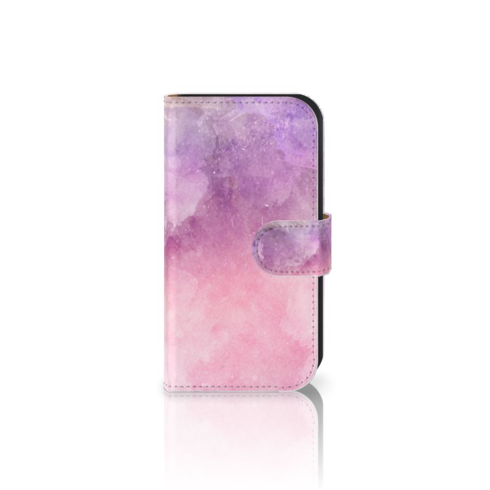 Hoesje Samsung Galaxy Ace 4 4G (G357-FZ) Pink Purple Paint