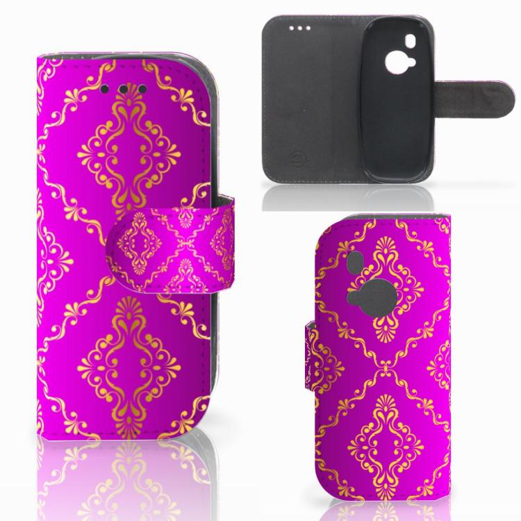 Wallet Case Nokia 3310 (2017) Barok Roze