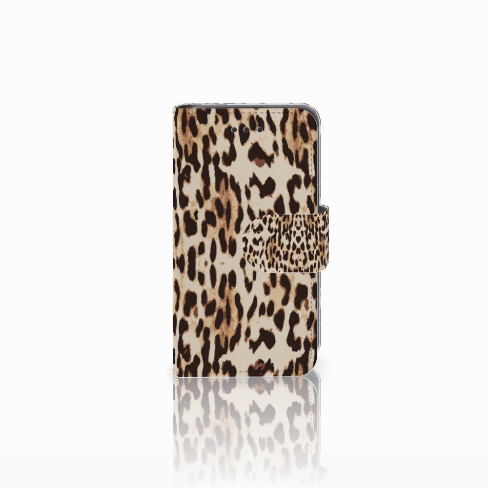 Nokia Lumia 530 Uniek Boekhoesje Leopard