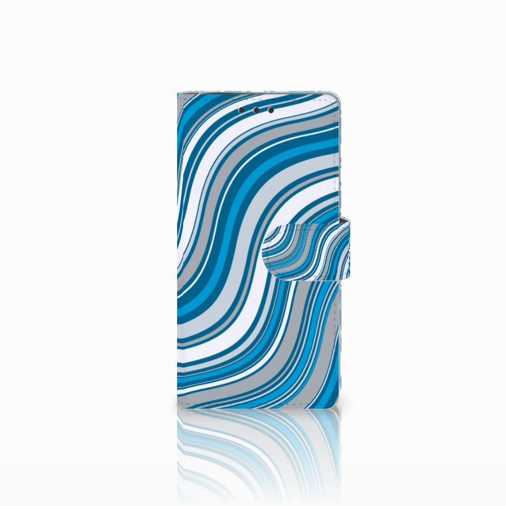 Sony Xperia X Performance Boekhoesje Design Waves Blue