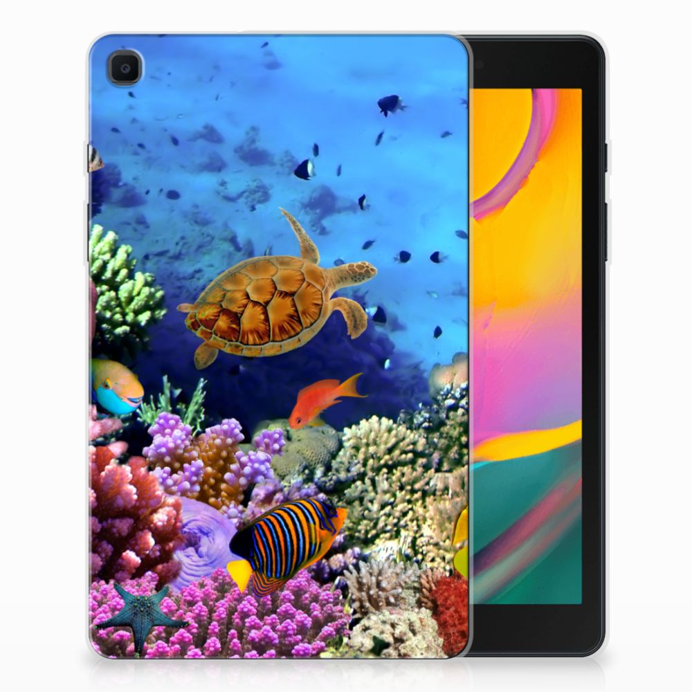 Samsung Galaxy Tab A 8.0 (2019) Back Case Vissen