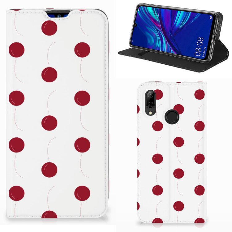 Huawei P Smart (2019) Flip Style Cover Cherries
