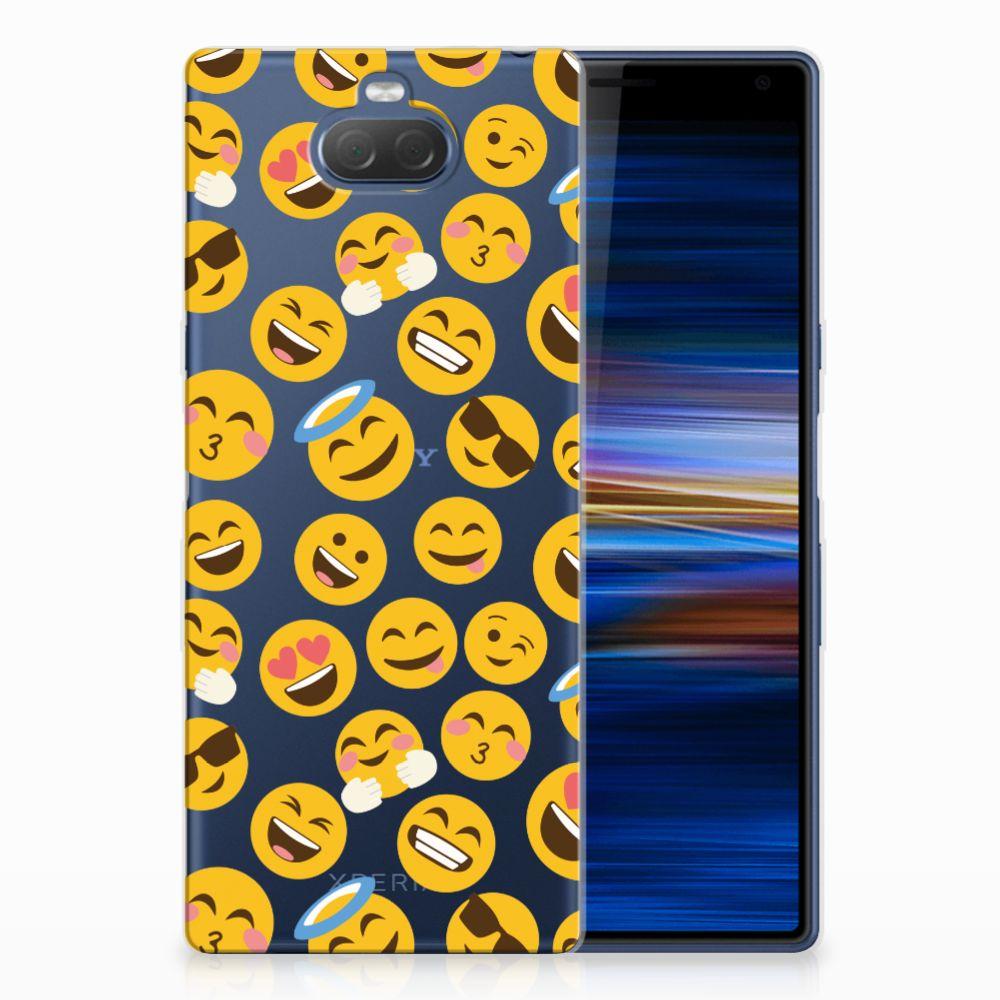 Sony Xperia 10 Plus TPU bumper Emoji