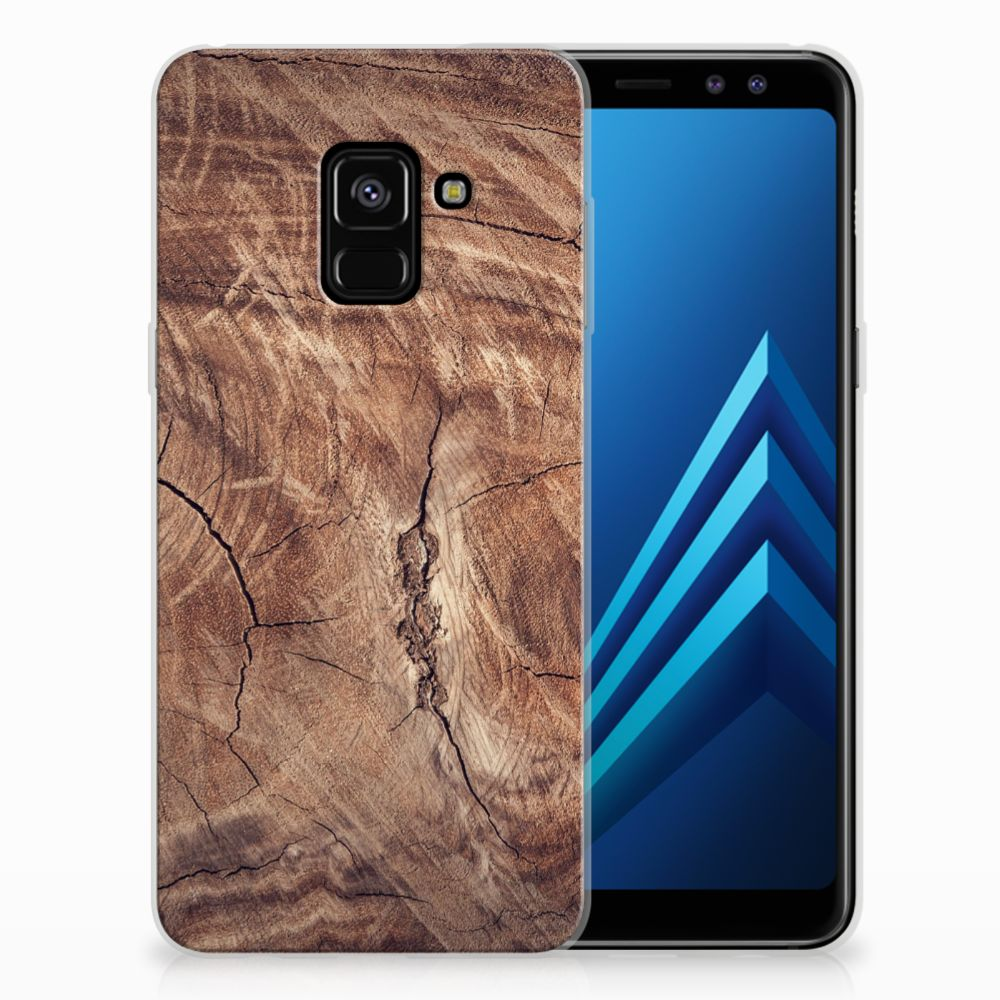 Samsung Galaxy A8 (2018) Bumper Hoesje Tree Trunk