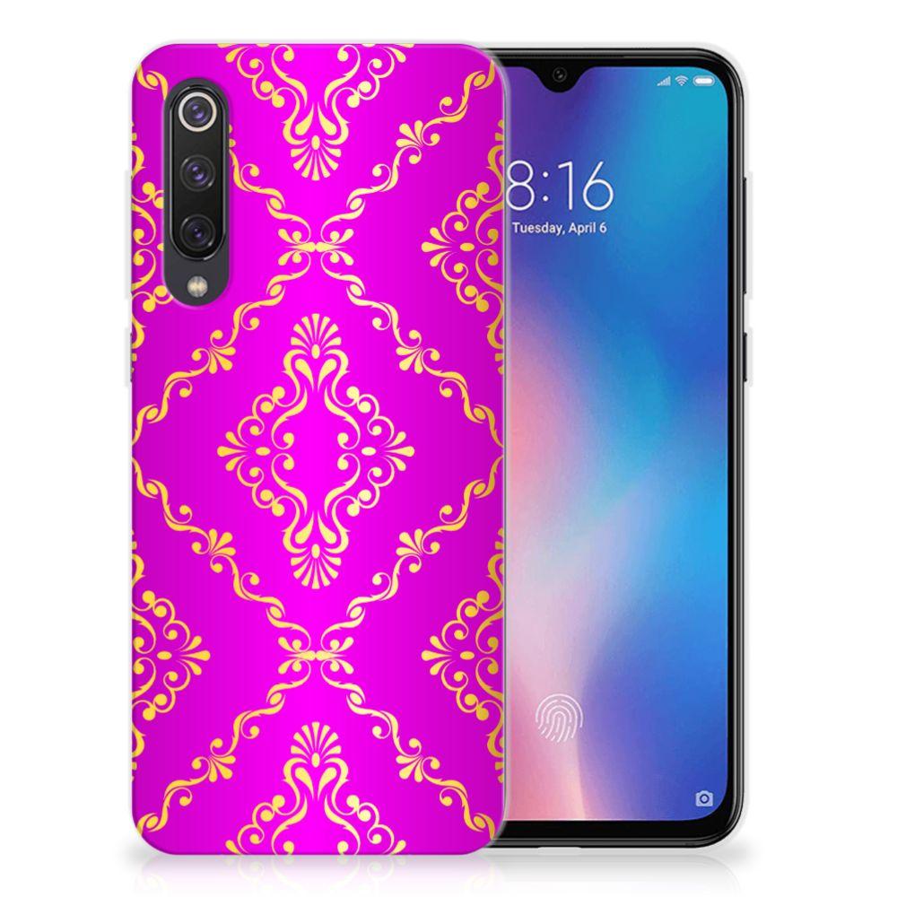 Siliconen Hoesje Xiaomi Mi 9 SE Barok Roze
