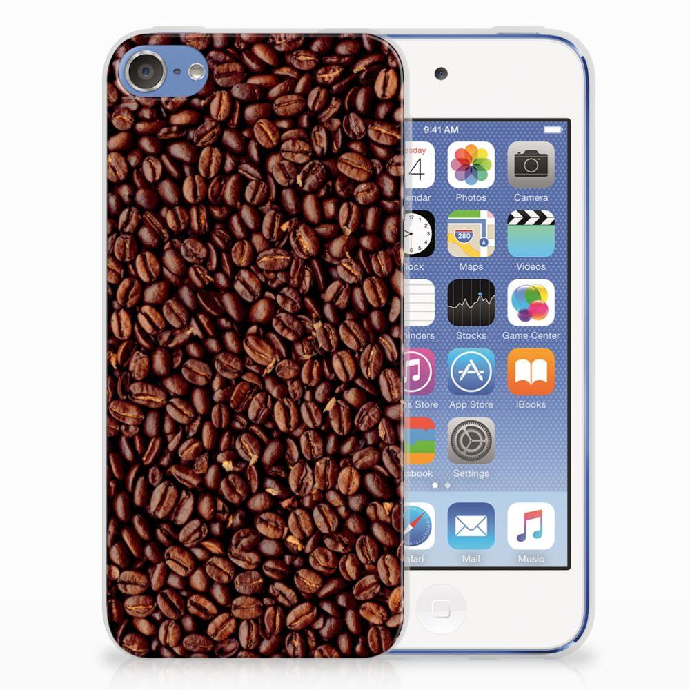 Apple iPod Touch 5   6 Uniek TPU Hoesje Koffiebonen
