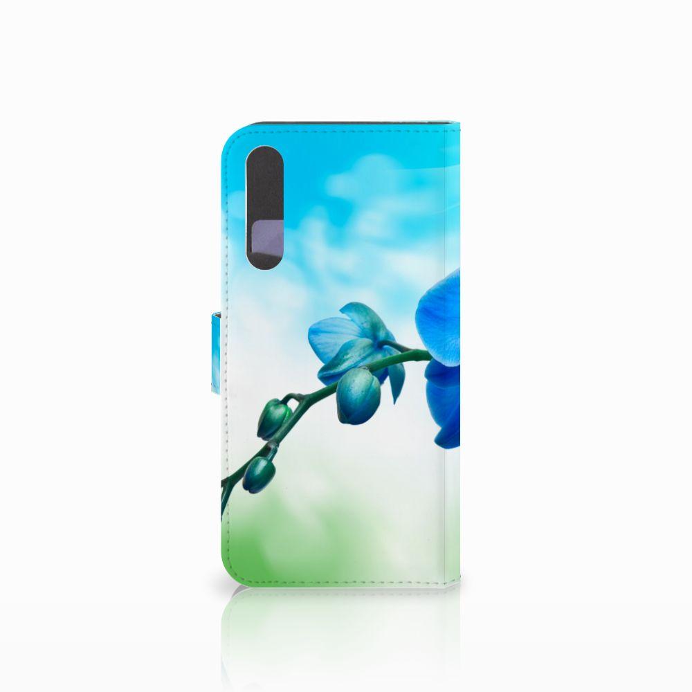 Huawei P20 Pro Hoesje Orchidee Blauw
