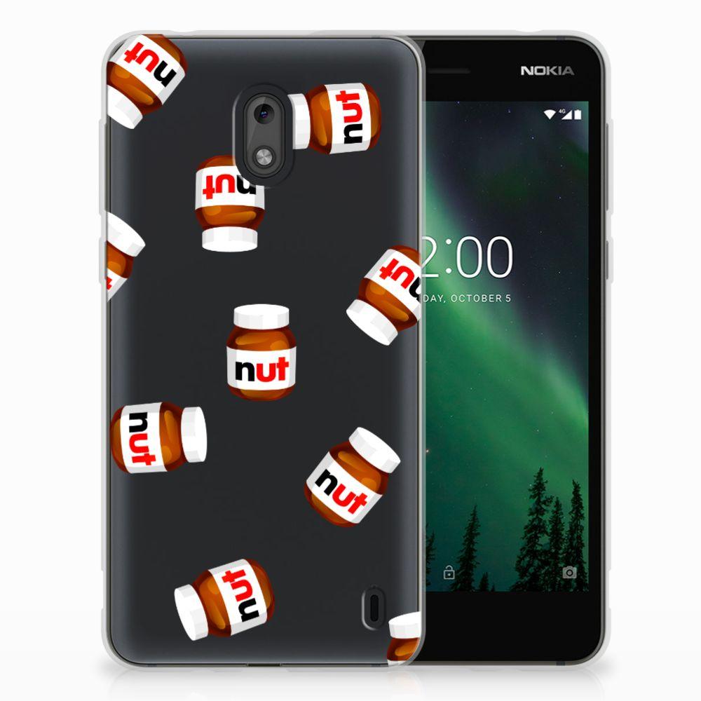 Nokia 2 Siliconen Case Nut Jar