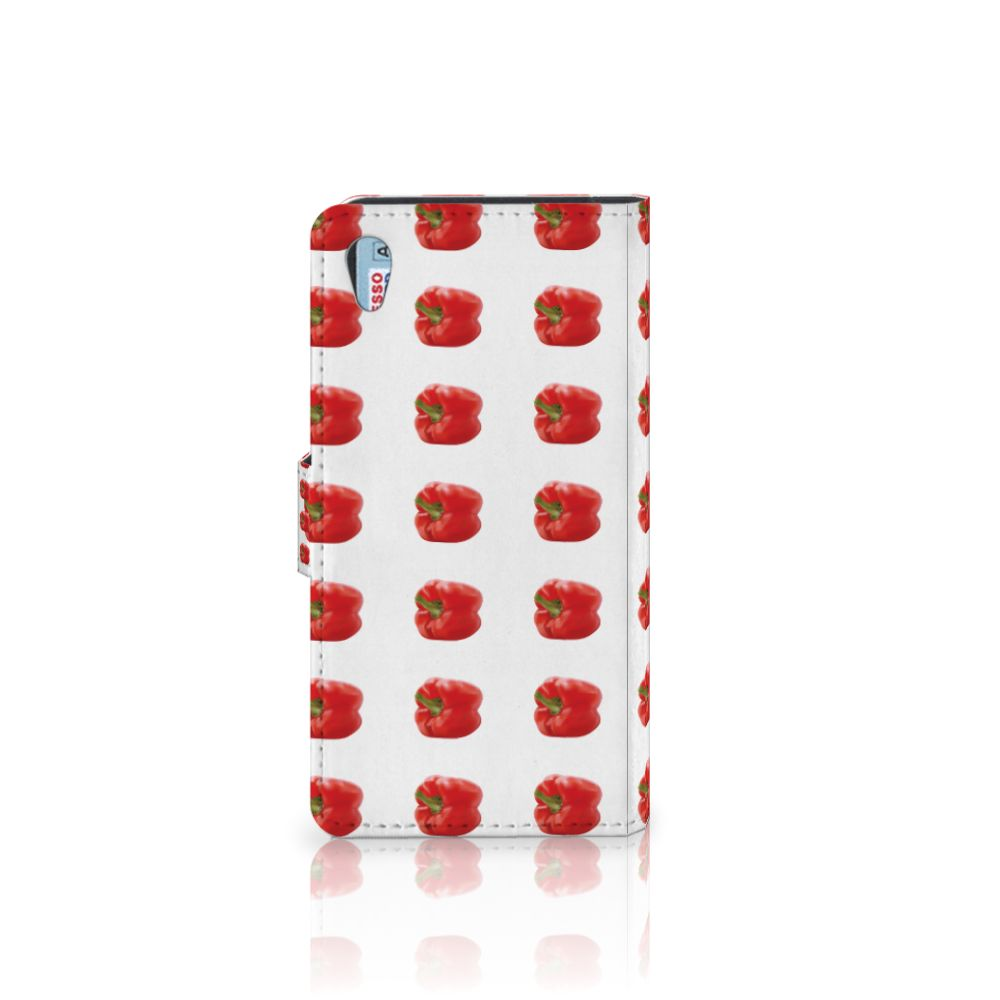 Sony Xperia Z2 Book Cover Paprika Red