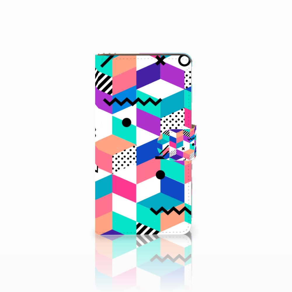 Huawei Ascend G700 Bookcase Blokken Kleurrijk