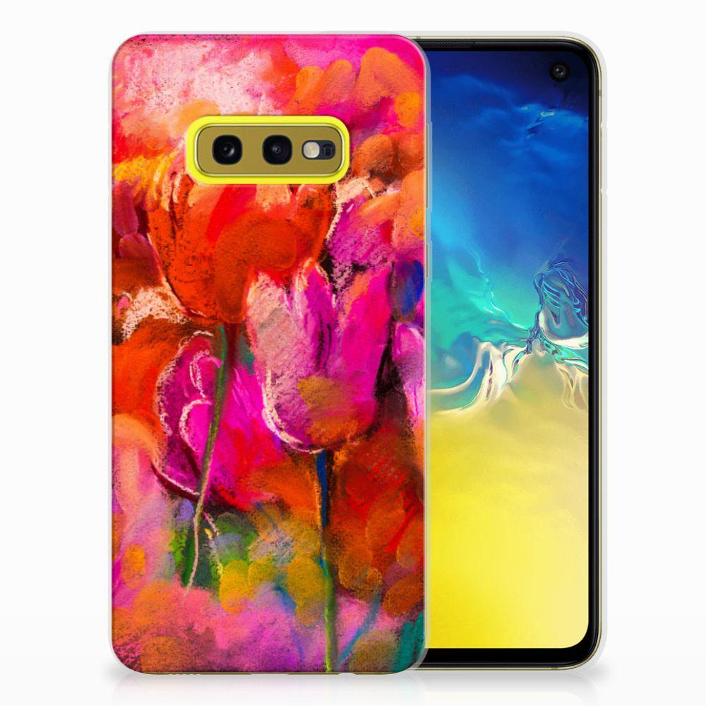 Hoesje maken Samsung Galaxy S10e Tulips