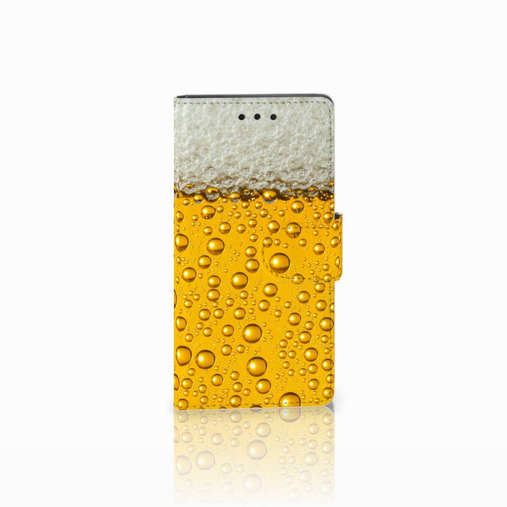 Sony Xperia Z5 Compact Uniek Boekhoesje Bier