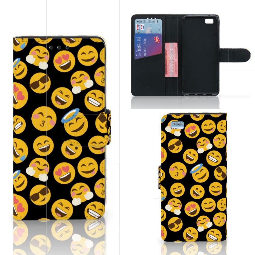Huawei Ascend P8 Lite Telefoon Hoesje Emoji