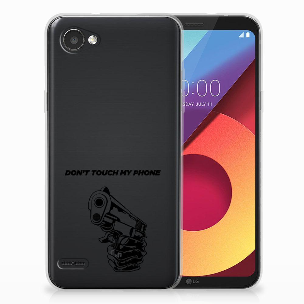 LG Q6 | LG Q6 Plus Uniek TPU Hoesje Gun DTMP