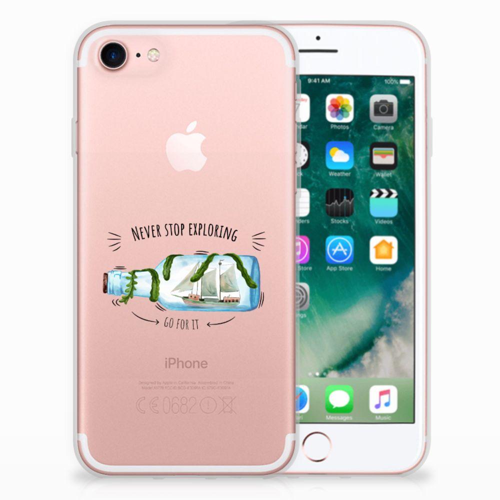 Apple iPhone 7 | 8 Uniek TPU Hoesje Boho Bottle