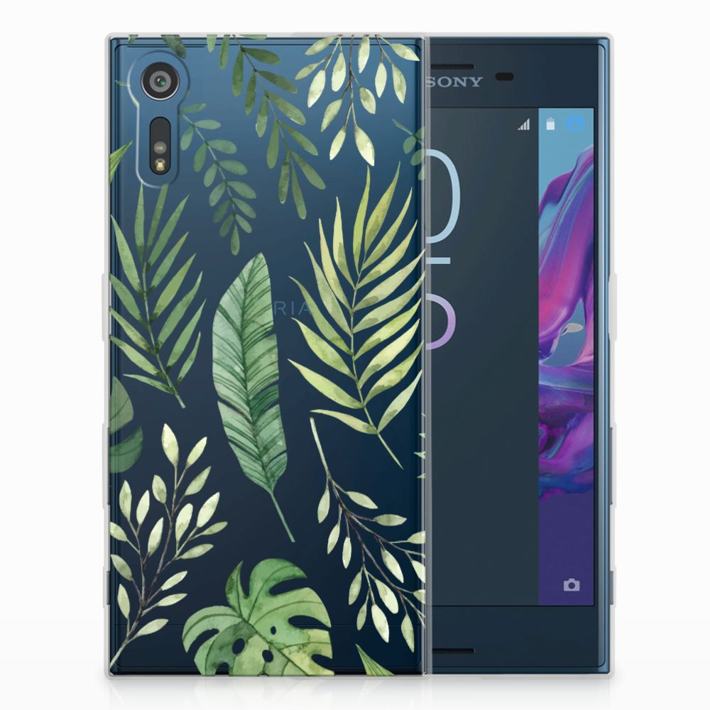 Sony Xperia XZs | XZ TPU Case Leaves