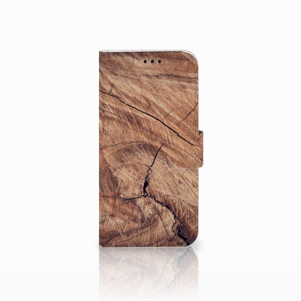 Samsung Galaxy A5 2017 Boekhoesje Design Tree Trunk